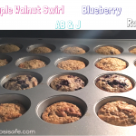 Healthy Muffins. Delicious blueberry muffins. Healthy Toddler muffins the whole family can enjoy. Peanut free, no dairy, eat clean muffin.