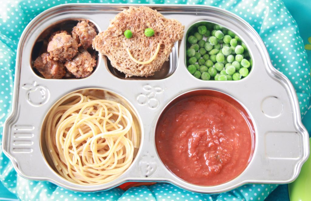 Select a Side Spaghetti Toddler Lunch