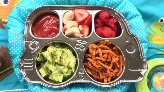 Tex-Mex Toddler Lunch