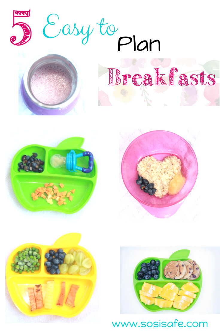 Toddler meals that are healthy don't have to be tricky. There toddler breakfasts are peanut free, eat clean with no dairy.