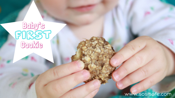 Baby cookies that are healthy, easy to make with no sugar added. Peanut free snack that contains no milk and is eat clean.