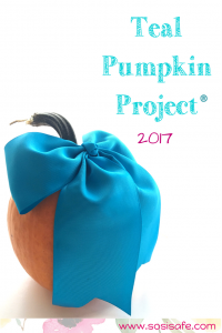 TealPumpkinProject2017 information by SosiSafe What is the teal pumpkin project?