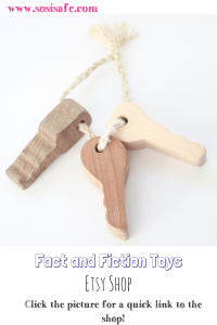 Wooden Toys Fact and Fiction Toys Etsy shop review Non toxic wooden today Review by SosiSafe