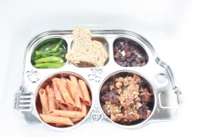Meatloaf Medley Easy Toddler Lunch by SosiSafe