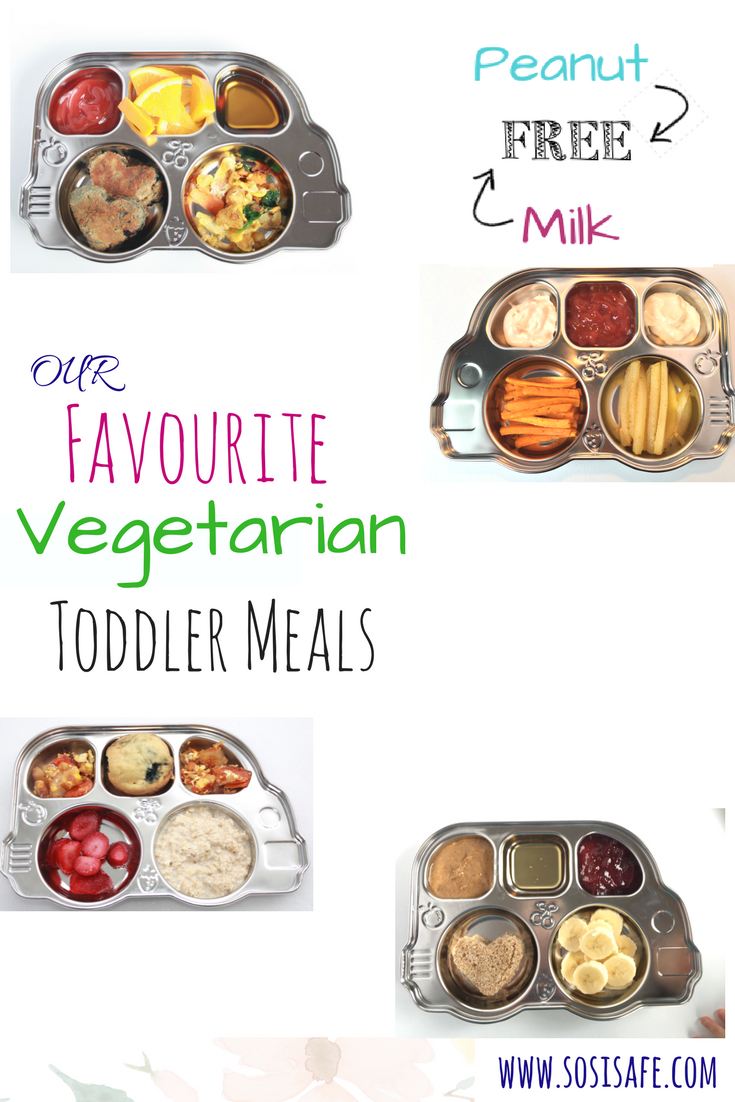 Vegetarian Toddler Meals by SosiSafe Toddler Lunches