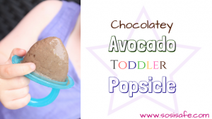 Healthy Popsicle Recipe Easy Toddler Popsicle Chocolate Avocado Popsicle