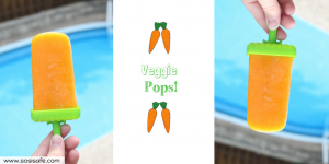 Veggie Popsicles! Healthy popsicles, healthy toddler popsicles made easy. Healthy homemade popsicles.