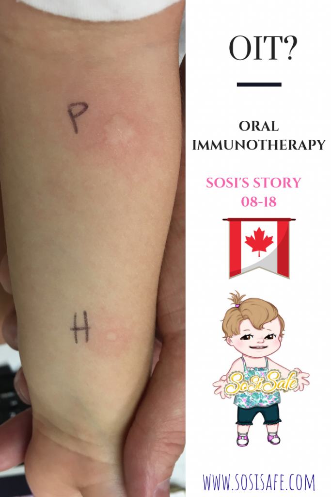 OIT Oral Immunotherapy Canada by SosiSafe
