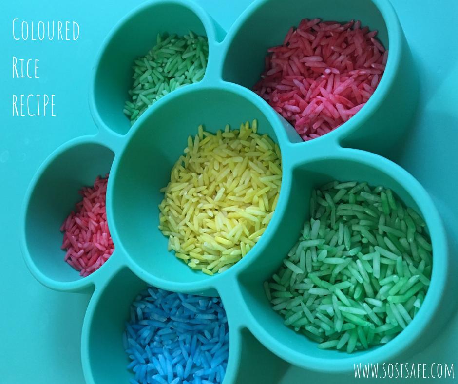 coloured rice recipe