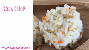 Rice Pilaf with Hidden Veggies by #sosiafe