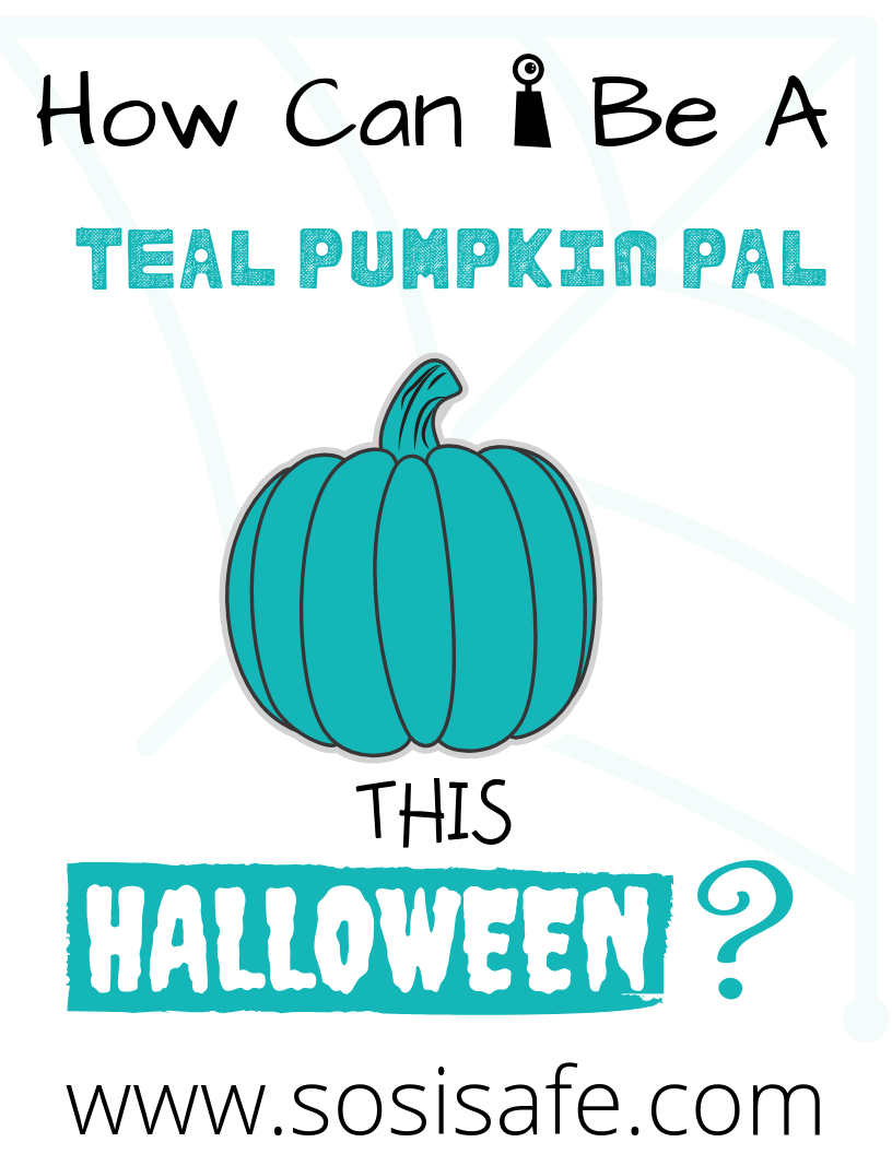 Teal Pumpkin Project Free printable #sosisafe