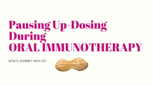 Oral Immunotherapy OIT Up-Dosing