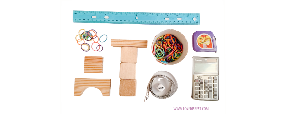 math manipulative examples for homeschooling
