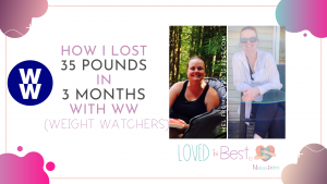 How I lost 35 pounds in 3 months with WW green plan (Weight Watchers)